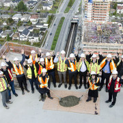 Marine Gateway Topping Off