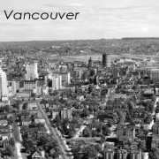 Downtown Vancouver 1950s